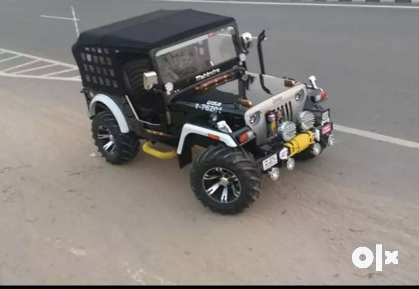 Open Jeep modified available 0