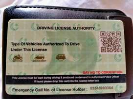 Am LTV License Holder Driver, Need Home Driver Job