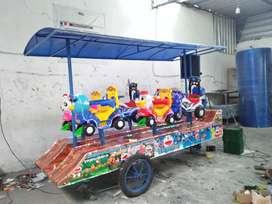 mainan anak odong goyang wahana lucu berkualitas isi 6 gerbong murah