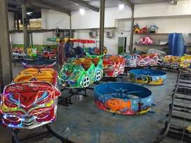 Odong Rel bawah mini coaster kereta lantai animal ride