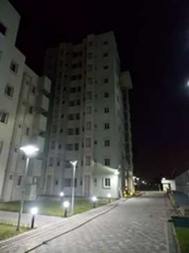 New flat at new town in good condition at decent rate