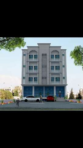 SHOPS OFFICES AND APARTMENTS AVAILABLE FOR SALE IN B17 ISLAMABAD