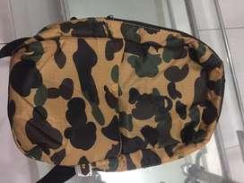 sling bag bape camo