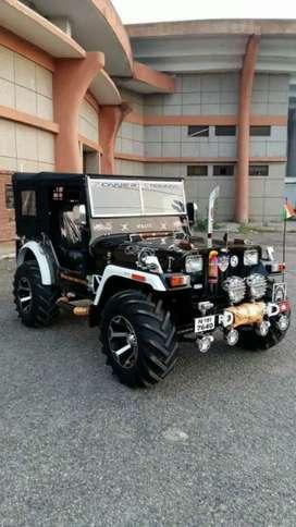Open Jeep and Gypsy Maruti and Mahindra Thar modified