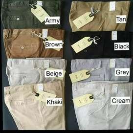 Celana Panjang Chinos Murah Import Melar dan Katun