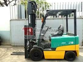 Forklift Bekas Import Daya Listrik Komatsu 2.5 Ton