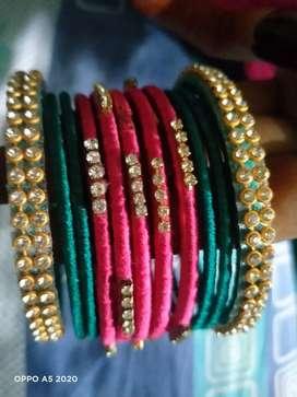 Thread bangels