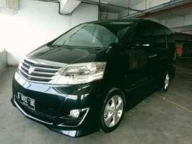Toyota alphard G AT 2007 Km55.000an