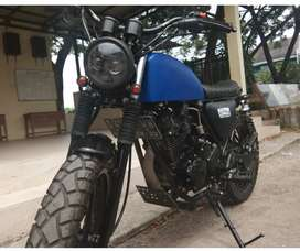 Yamaha Scorpio Scrambler, Japstyle, Custom Rapih