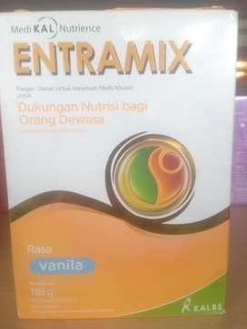 Makanan cair dengan nutrisi saluran pencernaan