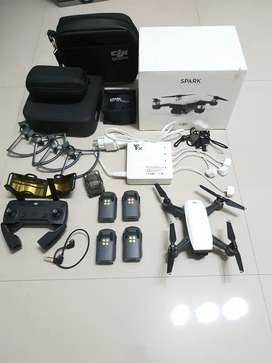 DJI SPARK FLY MORE COMBO FULL ACCESORIES