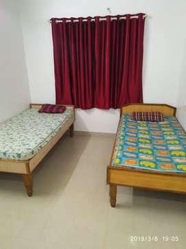 kharghar - opp railway station boys pg full furnished two sharing