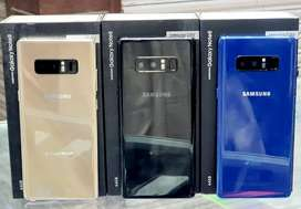 Samsung Note 8 ( Brand New ) orignal 64 gb 6 gb Pta Approved