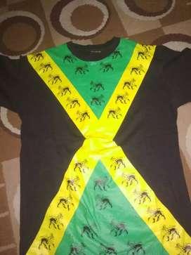 Baju rege kuning ijo