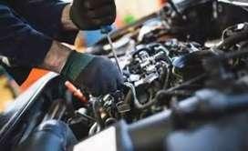 Spot hiring two wheeler mechanics