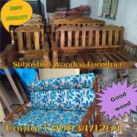 Good model wooden furniture wooden sofa for sale
