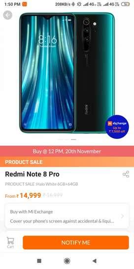 Redmi note 8 pro green color