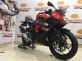 Promo murah ! Kawasaki Ninja 250 RR mono thn 2019 km 731 gagah