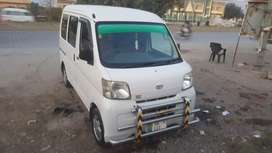 Hijet 2014 registered good condition ac hiter working