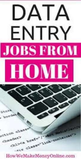 Typing job available pc or lep compulsory