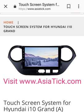 Touch screen system for Hyundai i10 grand