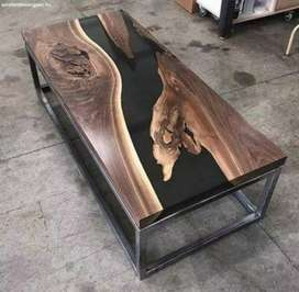 Epoxy Center table for office