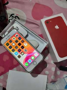 iphone 7 256 red (fullset) Nego