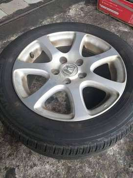 """Alloy rim and tyre size 16"""""""