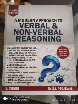 Verbal and non verbal book by R. S. Agarwal