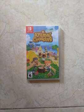 Jual game nintendo switch animal crossing