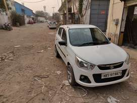 Maruti k10 cng white no negotiation final price