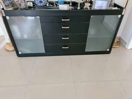 Dining or other items storage cabinet with 4 drawers,