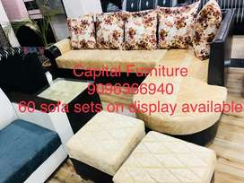 Brand New corner sofa set on instalment at affordable price