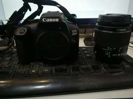 camera 4000d with lens EF 75-300 mm