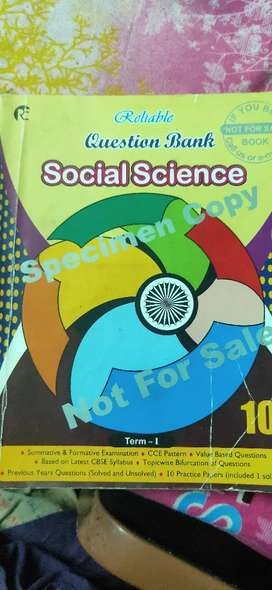 Social Science Question Bank With Solutions Class 10 Cbse Term 1