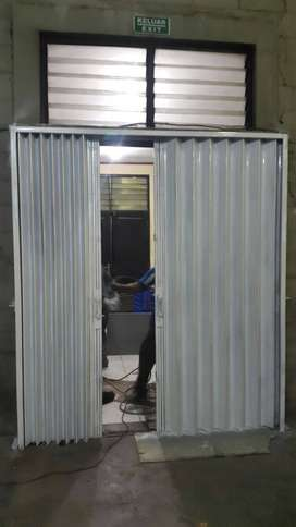 Folding gate terbaik rolling door Harmonika terbaru