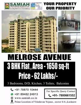 3 BHK Flat For Sale At Sector 6A, Vrindavan Yojna Lucknow