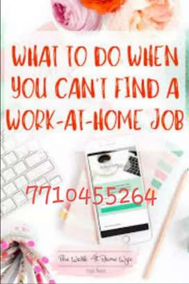Handful of income from home by part time , work from Homre