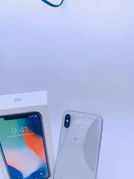 Apple iPhone X 64Gb Storage White colour with Box