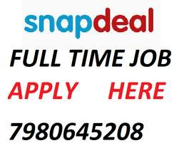 snapdeal urgent hiring for supervisor and store keeper helper
