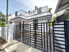 3.5 cent  750 sqft 2 bhk new build at  Aluva paravur road karumallur
