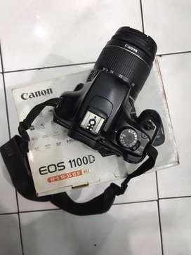 Dijual Camera Canon EOS 1100D fullset Normal jaya