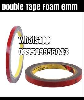 Double tape foam 6mm murah