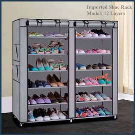 Double Shoe Rack 12 Layer, Designed for fit. Loved for style.