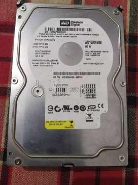 WD 160GB HARD DISK