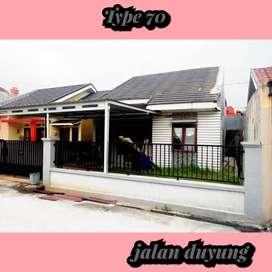Komplek rumah murah dijalan duyung,pekanbaru dekat Living word