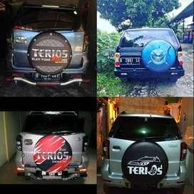 Cover/Sarung Ban Toyota Rush/Terios/Panther/CRV/Feroza Berani Diadu  M