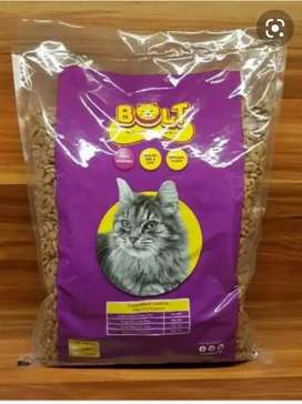 Makanan / Pakan Kucing Bolt 1 kg