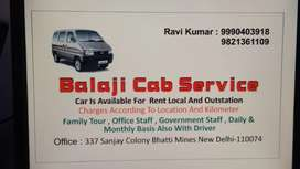 Private car for rent with driver