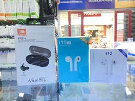 Headset Wireless JBL, Airpod Inpod i11 & i12